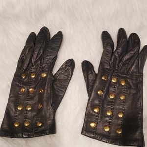 Authentic Hermes Studded Gloves